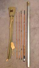 Vintage Hardy's Gold Medal Palakoma Cane Fly Rod Lot 84