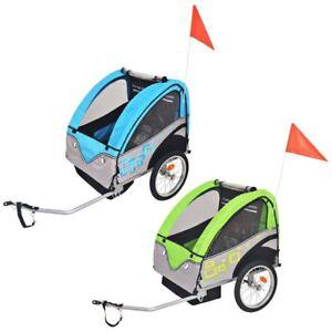 vidaXL-Remorque-de-Velo-pour-Enfants-Remorque-de-Bicyclette-Multicolore