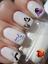 miniatuur 3 - Disney Descendants ongles manucure nail art water decal sticker