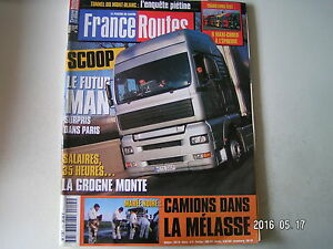 **a France Routes N°215 Kenworth T800 8x4 / Man 19-414 Contre 19-464