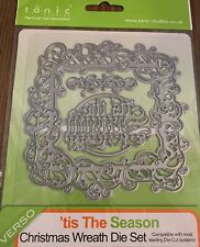 "Tattered Lace Dies by Stephanie Weightman ~ Drummer 1.5//8/""X5.1//16/"" TTLD913  NIP"