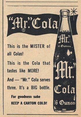 MR COLA BOTTLE OPENER ORIGINAL NOS