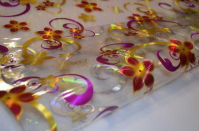 Tischfolie Tischdecke Tischschutz Schutzfolie 80 cm Breite transparent 1,6 mm