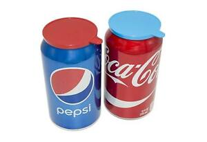 Soda Can Covers Soda Pop Tops Beer Can Lid Covers Assorted Colors Lot of 12