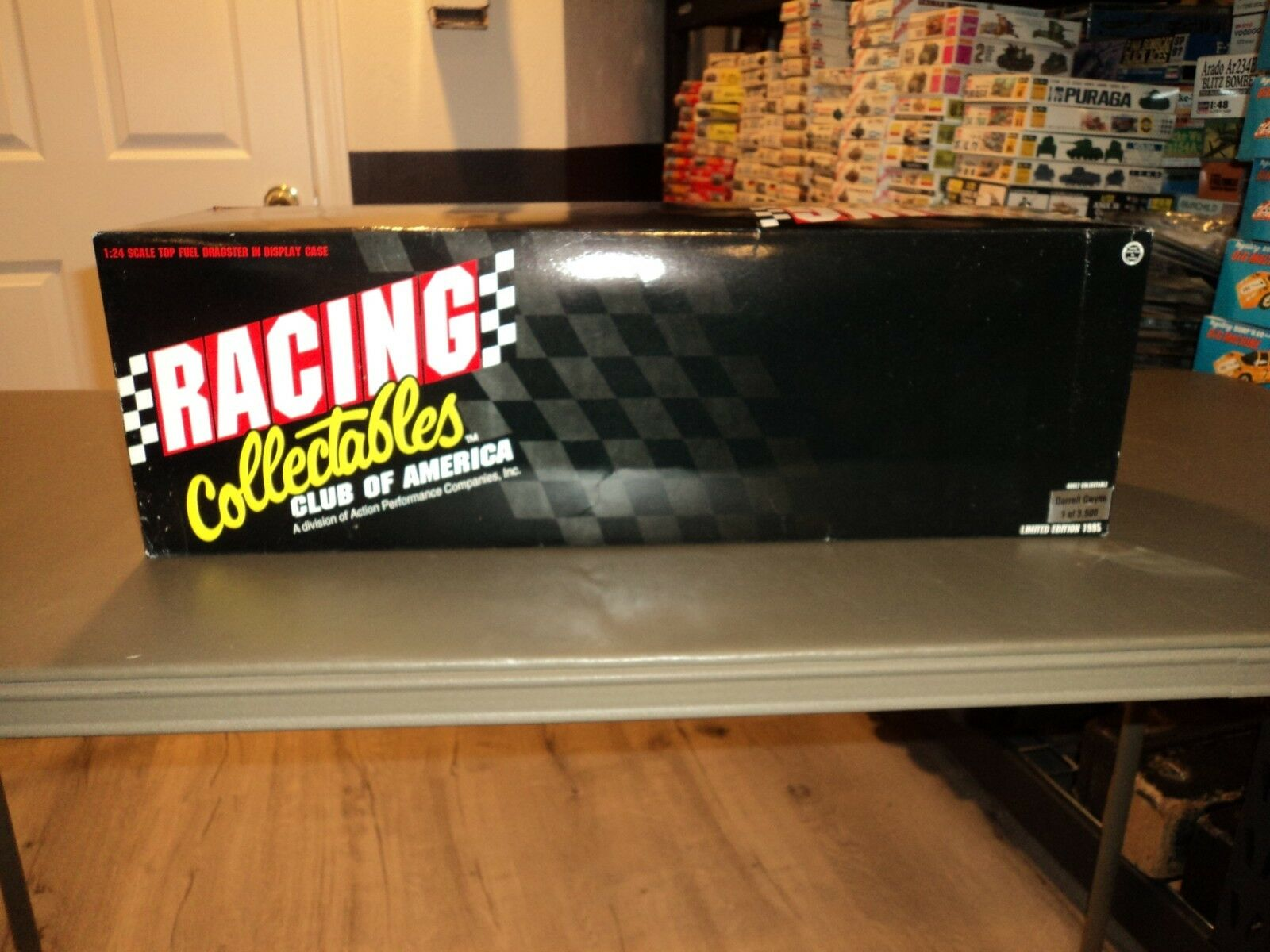 Nuevo 1 24 Die Cast Top Fuel Dragster Darrell Gwynn Coors 1995 Vitrina Racing Collectables Club of America