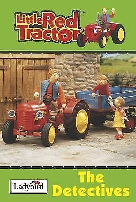 """AS NEW"" Little Red Tractor - the Detectives, Anon, Book"