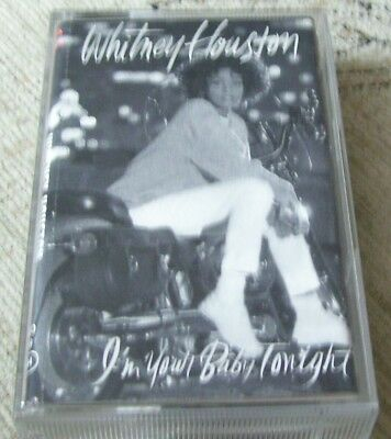 WHITNEY HOUSTON - I'M YOUR BABY TONIGHT, 11 TRACK CASSETTE ...