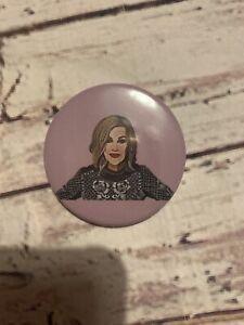 🖤 Moira Rose Schitts Creek Inspired XL Button Pin Badge 🖤