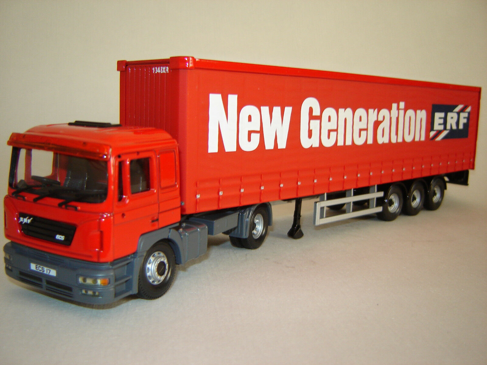1 50 ERF ECS Curtainside - The new Generation 2000 - Corgi CC12701