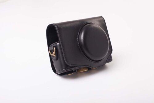 SX710HS Case strap black polyurethan for Canon PowerShot SX710 SX710 HS