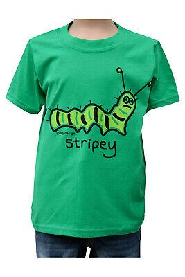 KIDS Slimy /'SLUG/' green T.shirt NEW 3-4 upto 9-11y