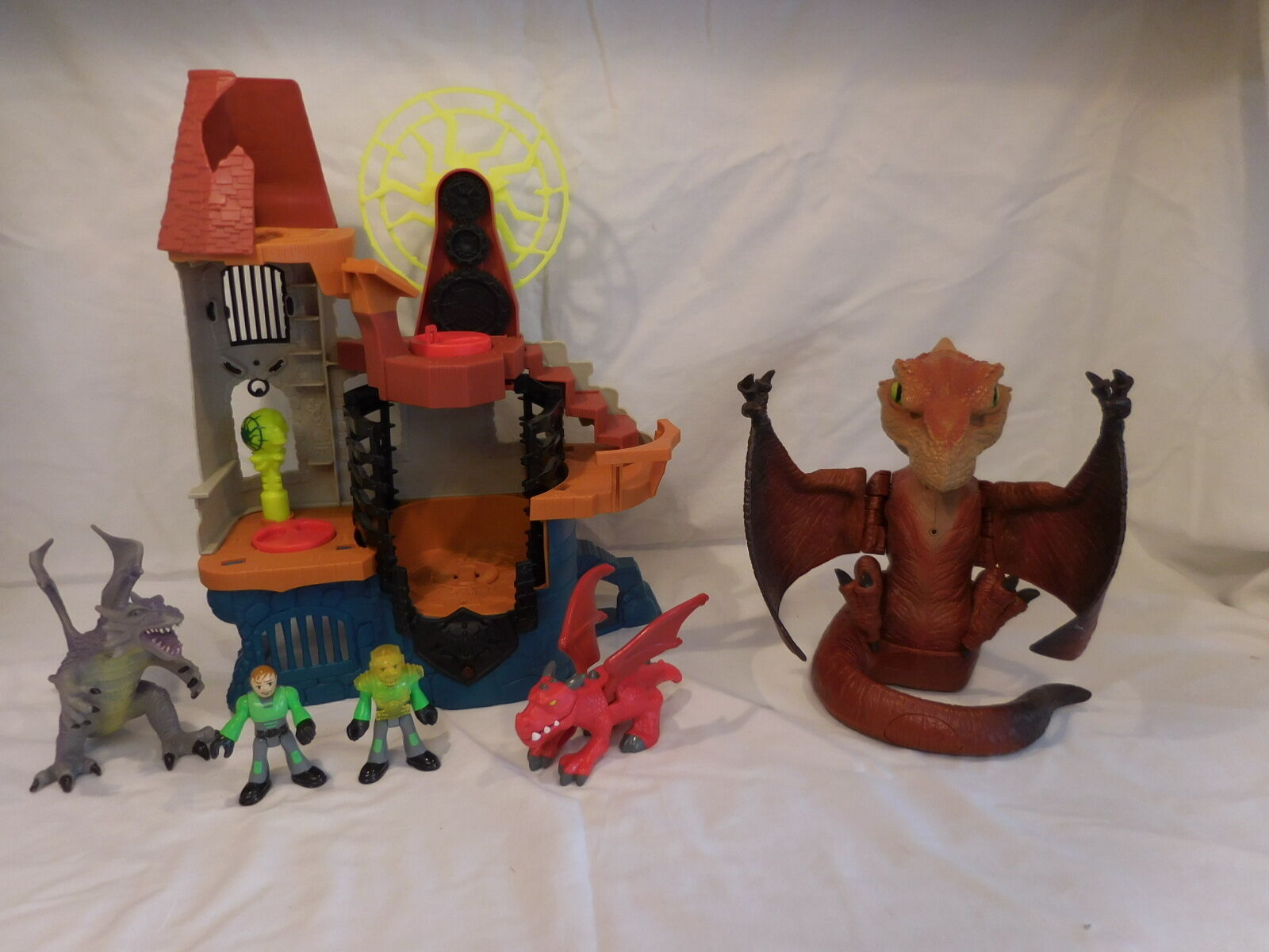 Imaginext Castle Wizard Tower Prehistoric Pets Pets Pets Pterodactyl Terrordacty Interacti e964ba