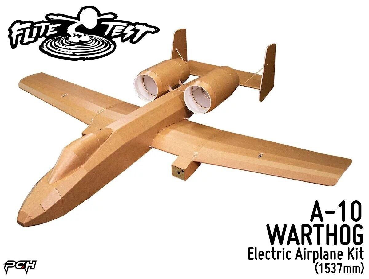 FLITE TEST FT  A-10 WARTHOG Electric Airplane Kit (1537mm) FLT-1063  ordinare on-line