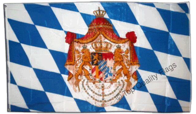 GIANT Germany Kingdom of Bavaria 1806-1918 FLAG bavarian, german 150x250cm – 8ft