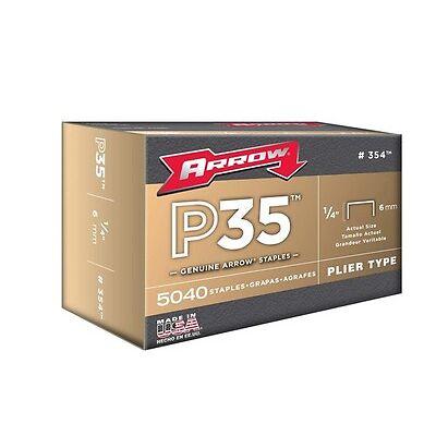 "Arrow ARRP3538 P35 Staples 10mm 3/8"" Box 5000"
