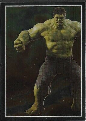 Hulk Constructive Marvel The Avengers By Panini No 38 Sticker Collection
