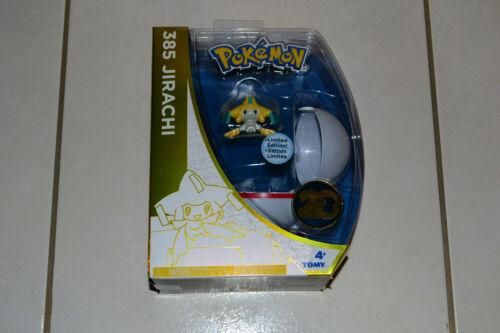 TOMY SEAL Pokémon 20th Anniversary Jirachi #385  POKE BALL NEW IN BOX BRAND