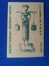 13. Vintage Label with of matches - Etykiety z zapalek