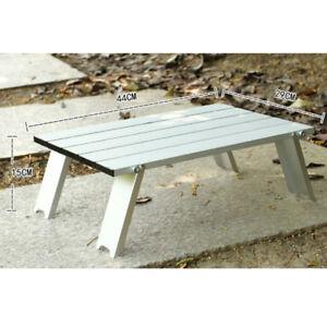 Tavolo In Alluminio Da Campeggio.Tavolo Da Picnic Da Campeggio Pieghevole In Alluminio Ultraleggero