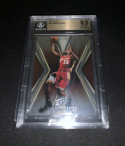 2005-06-SPx-Lebron-James-15-BGS-9-5