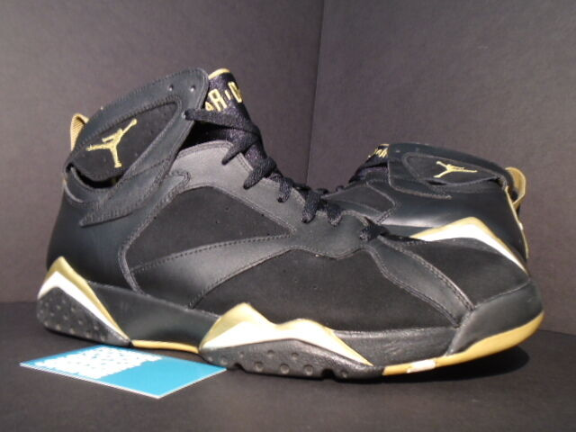 Nike Air Jordan VII 7 Retro GMP GOLDEN MOMENT GOLD MEDAL PACK BLACK WHITE 13