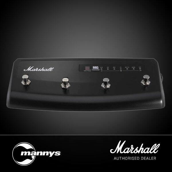 Marshall MG Series 4ft Controller 4 Way Footswitch