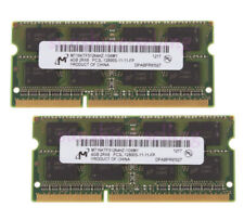 Crucial 8GB 2Rx8 PC3L-12800S DDR3L 1600Mhz 1.35V SODIMM RAM Laptop Memory Test /&