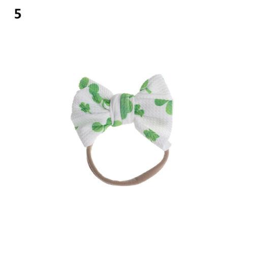 Flowers Bow knot Girls Baby Nylon Hairband Nylon Head Wraps Baby Headband