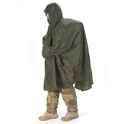 Snugpak 100% Waterproof Enhanced Patrol Poncho , Walking, Hiking, Outdoors