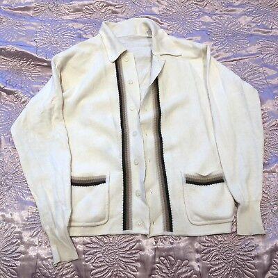 Delizioso Donna Caldo Cardigan Taglia Xl 50% Lana-mostra Il Titolo Originale Stile (In) Alla Moda;