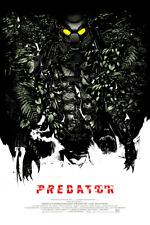Predator Alternative Movie Poster by Mondo Artist Oliver Barrett No. /200