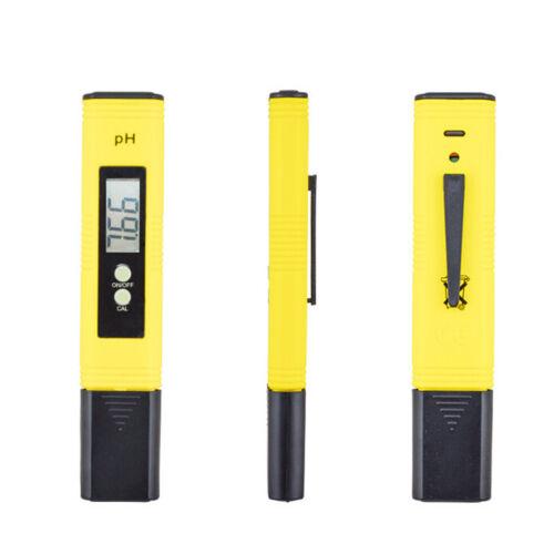 Digital Ph Wasser Meter Tester für Aquarium Pool Spa Wein Hydrokultur Testen