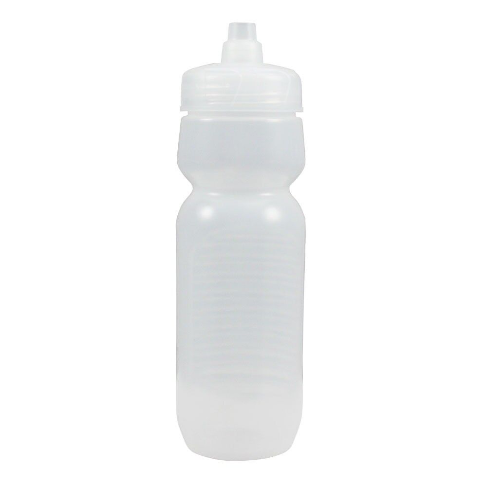 100 Paquete a granel 24 onzas de botellas de agua-Botella de helado con tapas claro hecho en Estados Unidos