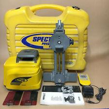 Trimble Spectra Hv401 Rotary Laser W Remote Case