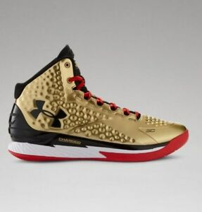 a684bca57f4d Under Armour Curry 1 All American Gold Size 11. 1275292-777 Steph ...