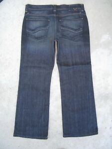 Kasil Dylan Jeans Bas Coupe Bottillon Hommes Sz 33 X 28 Foncé Atlantic Waterproof Jeans Shock-Resistant And Antimagnetic