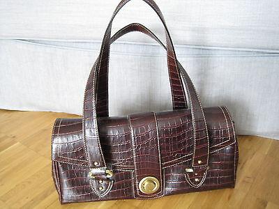 ***Original Gabor Damen Kunstleder Handtasche (dunkelbraun)***