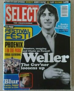 Select-Magazine-September-1996-Paul-Weller-Blur-Boo-Radleys-Fluffy
