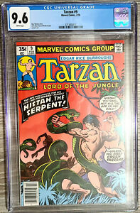 Tarzan-Lord-of-the-Jungle-9-CGC-9-6-Marvel-Comics-1978