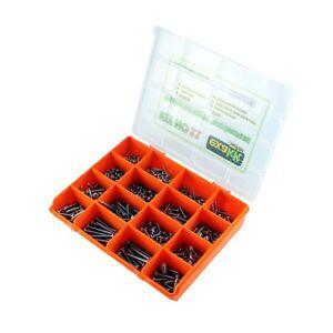 Self-Tappings-Screws-Pan-Head-Phillips-Drive-Fastener-kit-645-piece-EXAKT11