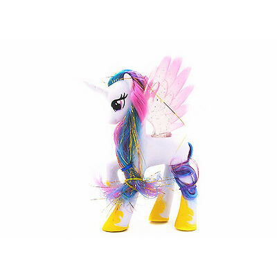 My Little Pony Friendship Princess Celestia Toy Figure Doll New White