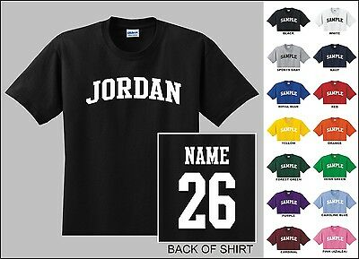 Country Of Costa Rica College Letter Custom Name /& Number Personalized T-shirt