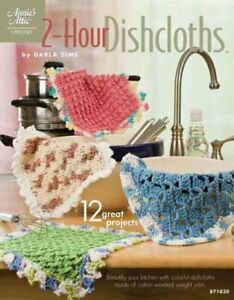 2-Hour-Dishcloths-Paperback-by-Sims-Darla-Brand-New-Free-shipping-in-the-US