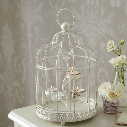 Large Bird Cage Tea-light Holder