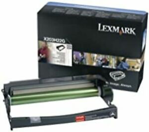 Genuine Lexmark X203H22G Photoconductor Kit (Yield 25,000 Pages) for X203/X204s.