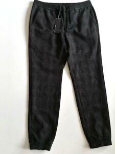 BRYAN-DALES-Pantalone-uomo-fantasia-quadri-grigio