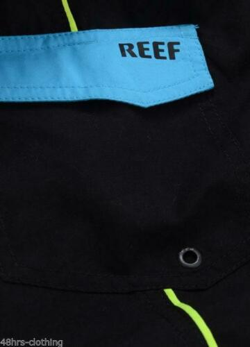REEF SURF SWIM SHORTS BOARD SHORT LONG CY STRIPE CARIB QUEEN GARDEN UNITED