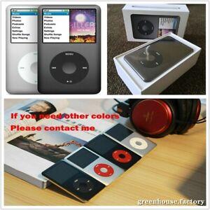 New Apple iPod Classic 7th Gen Black/silver/gold/red (80GB/120GB/160GB/256GB)🔥