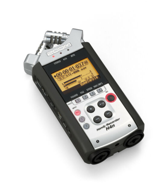 ZOOM H4N HANDY MULTI TRACK RECORDER STEREO MICROPHONE 8GB SD CARD H2N PRO H5 H6