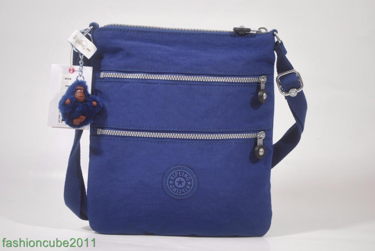 babd75a93 Kipling Keiko Ink Blue Crossbody Bag Small yet Roomy Ac7905 for sale ...